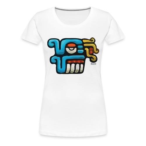 Aztec Icon Rain - Women's Premium T-Shirt