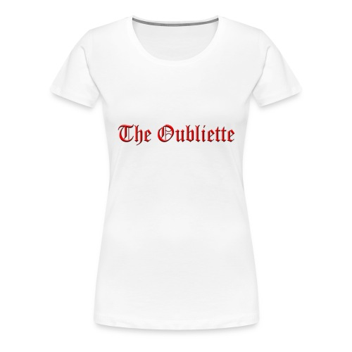 The Oubliette Apron - Women's Premium T-Shirt