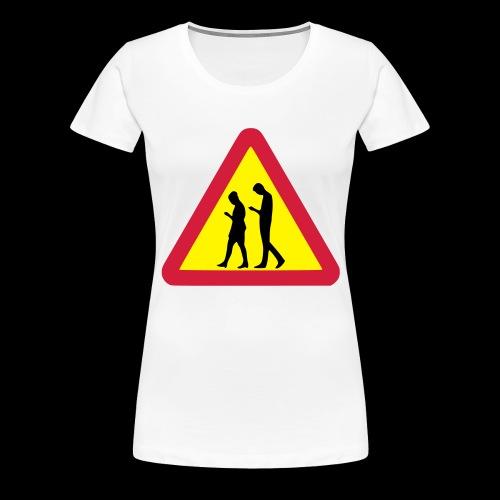 Smombie - Frauen Premium T-Shirt