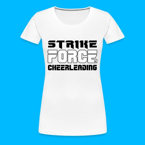 STRIKE FORCE - DRAWSTRING BAG - Women's Premium T-Shirt