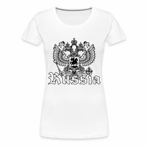 Russia - Frauen Premium T-Shirt