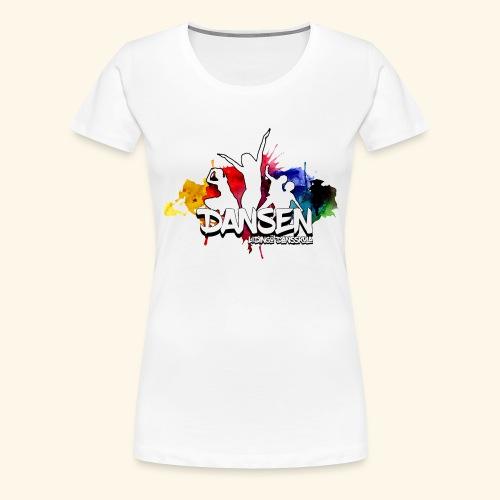 Dansen ColorSplash - Premium-T-shirt dam