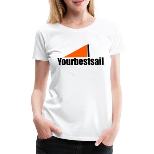 negro naranja ybs - Camiseta premium mujer