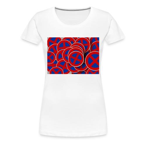 Parken verboten Tshirts rund - Frauen Premium T-Shirt
