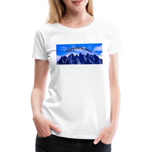 Dolomitenpanorama - Frauen Premium T-Shirt