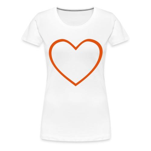 Hjärta 4 - Premium-T-shirt dam