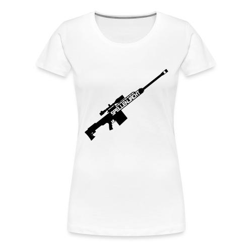 Het Jacht Geweer - Vrouwen Premium T-shirt