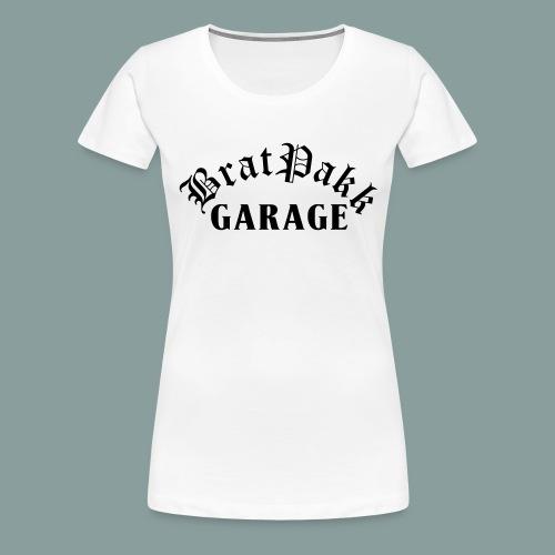 BratPakk Garage - Premium-T-shirt dam