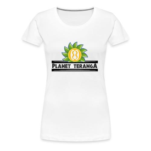 T shirt historique Planet T - T-shirt Premium Femme