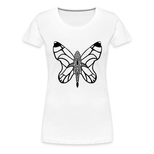 shark butterfly - T-shirt Premium Femme