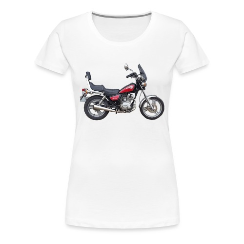snm daelim vc 125 f advace seite rechts ohne - Frauen Premium T-Shirt