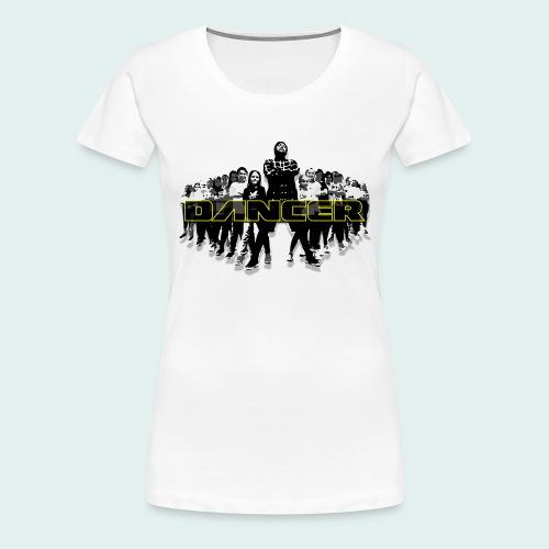 dancer yellow png - Frauen Premium T-Shirt