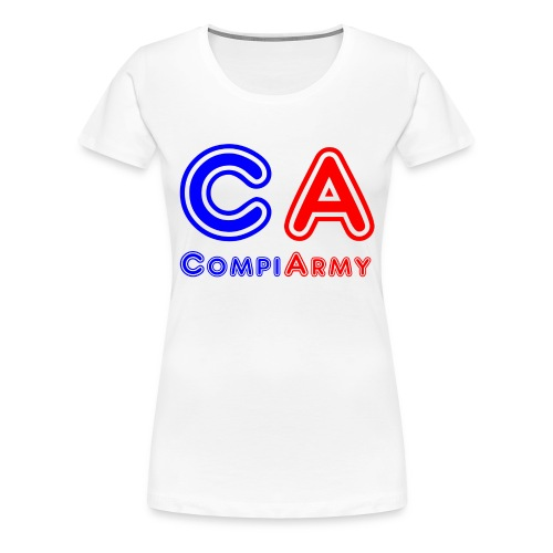 CompiArmy Design   bit.ly/compiarmyyt - Frauen Premium T-Shirt
