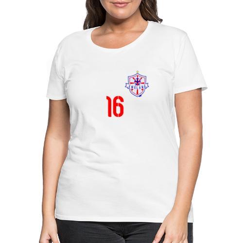 16 England 2014 Pelibol - Frauen Premium T-Shirt