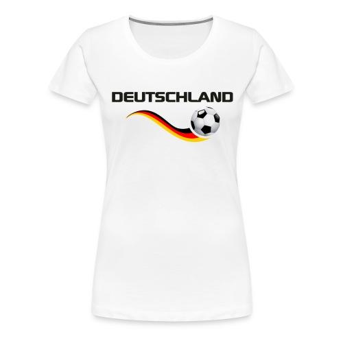 WM DEUTSCHLAND 1 - Frauen Premium T-Shirt