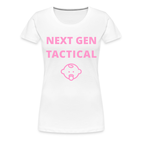Tactical Baby Girl - Vrouwen Premium T-shirt