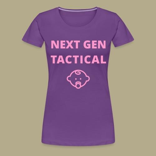 Tactical Baby Girl - Vrouwen Premium T-shirt
