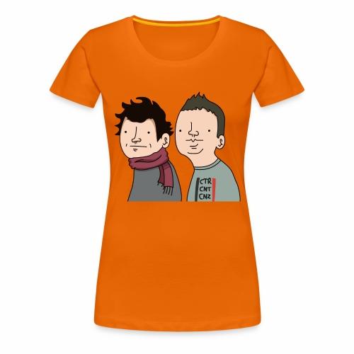 Laink et Terracid Wankuls - T-shirt Premium Femme
