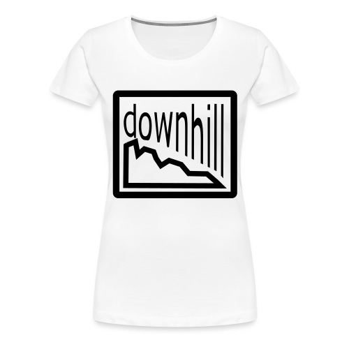 Bike Fashion Downhill - Frauen Premium T-Shirt