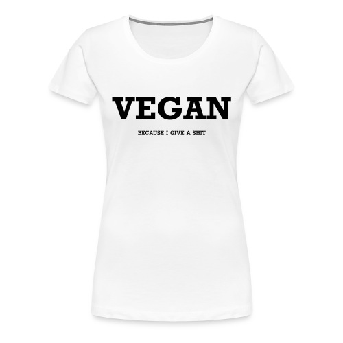 Vegan - T-shirt Premium Femme