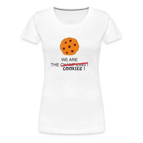 WE ARE THE COOKIES - Maglietta Premium da donna