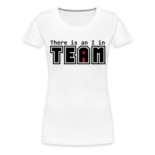Équipe I - T-shirt Premium Femme
