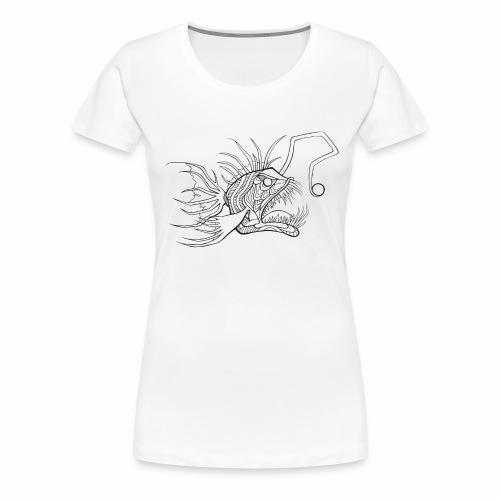 Anglerfisch - Frauen Premium T-Shirt