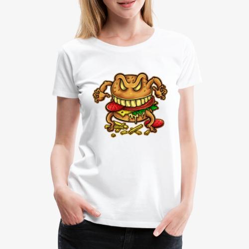 La malédiction du burger - T-shirt Premium Femme