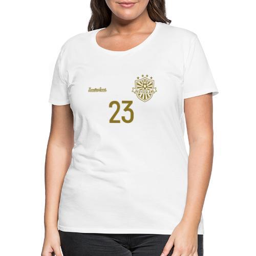23 Deutschland Trikot GOLD und SILBER Pelibol - Frauen Premium T-Shirt