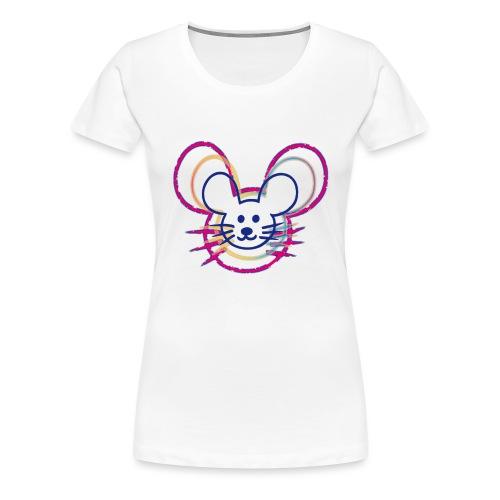 kleines Mausgesicht/Mäuse - Frauen Premium T-Shirt
