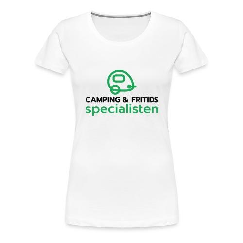 Camping & Fritidsspecialisten - Premium-T-shirt dam