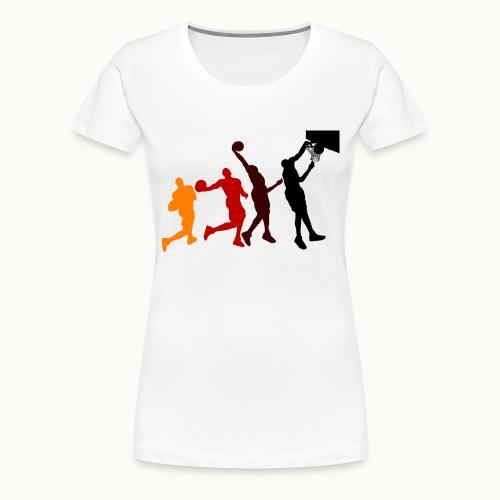 Basketball - Frauen Premium T-Shirt