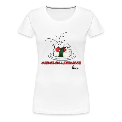 garnelenliebhaber - Frauen Premium T-Shirt