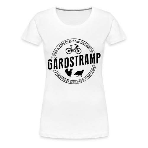 Traktorkeps - Premium-T-shirt dam