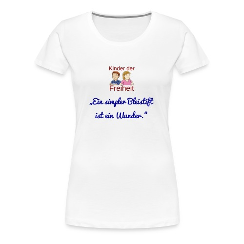 Bleistift - Frauen Premium T-Shirt