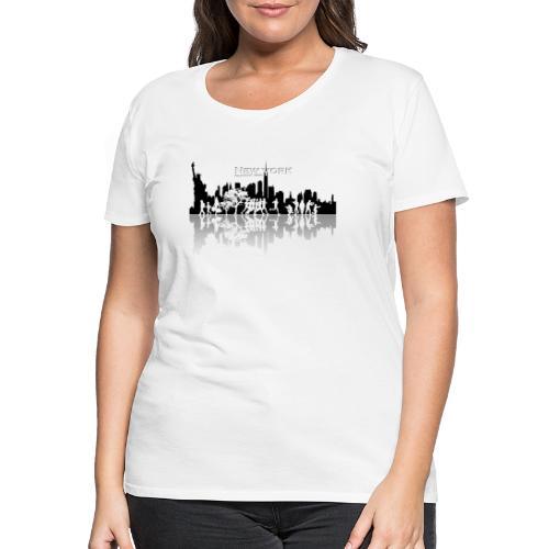 New York silhouette - T-shirt Premium Femme