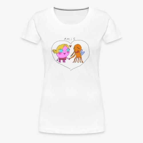 les meilleurs amis - T-shirt Premium Femme