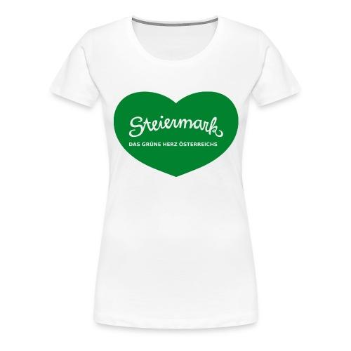 Steiermark das Gruene Herz Oesterreichs - Frauen Premium T-Shirt
