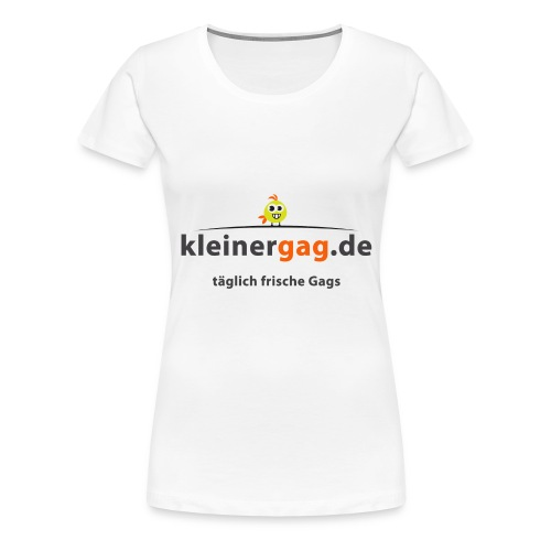 logotransp png - Frauen Premium T-Shirt