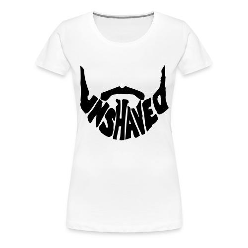 unshaved_logo - Frauen Premium T-Shirt