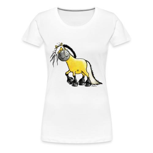 fjord_horse-png - Women's Premium T-Shirt