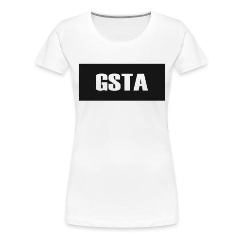 GSTA White Shirt 9-12yrs - Women's Premium T-Shirt