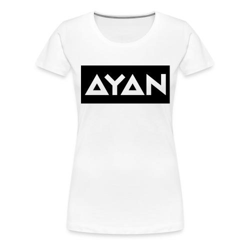 ayan-png - Vrouwen Premium T-shirt