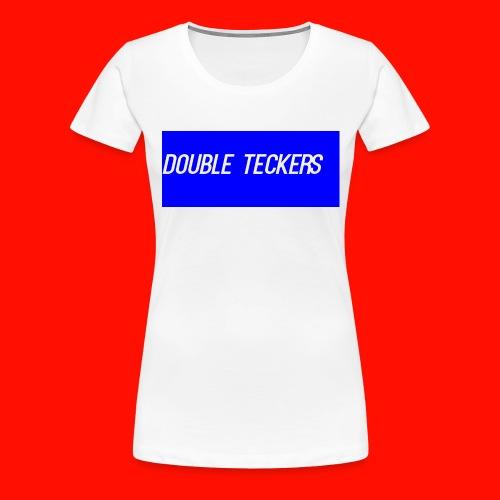 Double Teckers Black top - Women's Premium T-Shirt