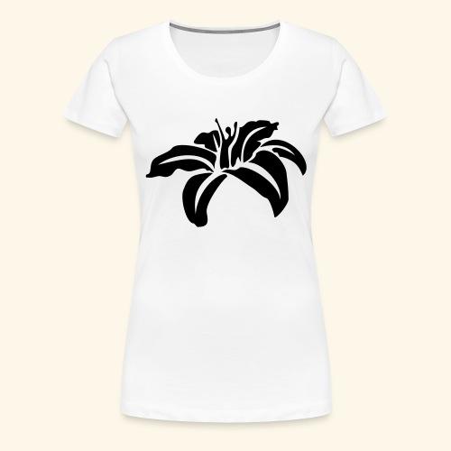 Blüte klein - Frauen Premium T-Shirt