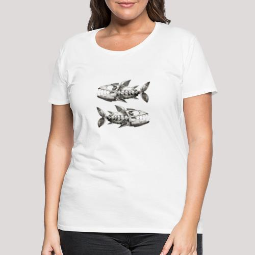 FishEtching - Women's Premium T-Shirt
