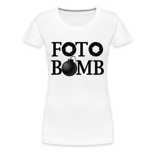 Foto-Bomb - Women's Premium T-Shirt