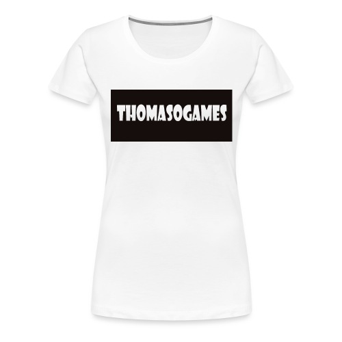 ThomasoGames Logo - Vrouwen Premium T-shirt