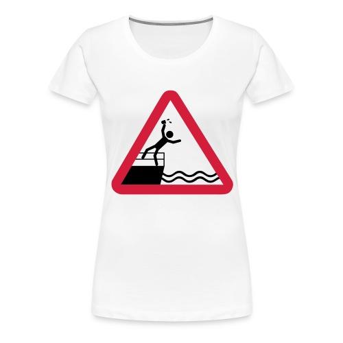 Bitte kein Bier Verschütten! - Frauen Premium T-Shirt
