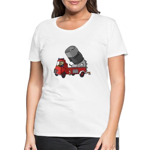 Wasserwerfer - Frauen Premium T-Shirt